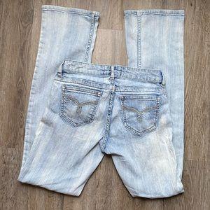 No Boundaries Light Wash Super Soft Jeans Size 5
